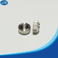 CNC turning machining knurled steel parts