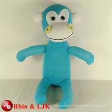 Meet EN71 and ASTM standard ICTI plush toy factory plush plush blue monkey toy