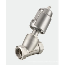 Pneumatic Bevel Valve - Two Way Two Position