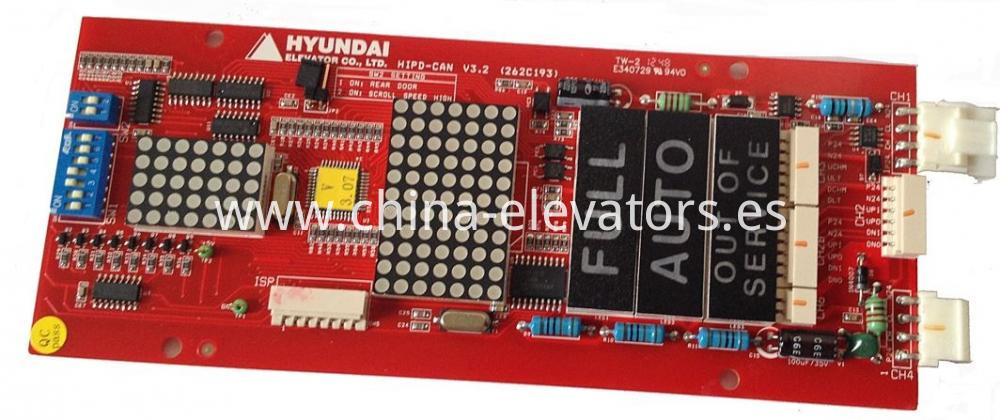 LOP Indicator HIPD-CAN Hyundai Elevators STVF5 STVF7