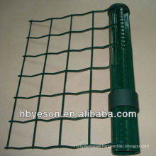 welded pvc coating eruo fence