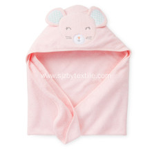 Top Quality Organic Bamboo Baby hooded Poncho Towel
