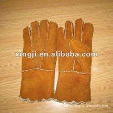guante de piel de cordero para niños