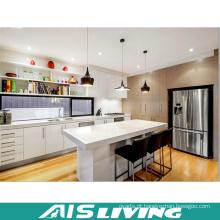 Armários de cozinha europeus do armazenamento da mobília do estilo (AIS-K974)