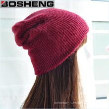 Горячая распродажа Unisex Winter Warm Oversized Ski Knitted Hat Beanie Cap
