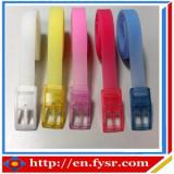 colorful silicone golf belt