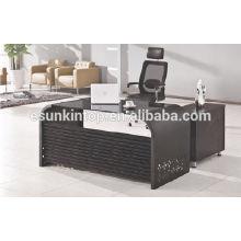 De cristal para el diseño de oficina de escritorio, fabricante de muebles de oficina de alto grado (KG8944)