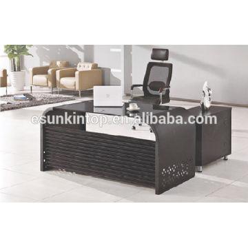 Glas für Schreibtisch Top Büro Design, Hochwertige Büromöbel Hersteller (KG8944)