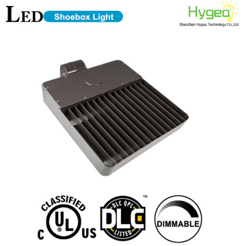 120w LED shoebox light fixture