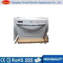WQP6-3206B weiß / silber / schwarz mini tragbare Haushaltsgeschirrspüler