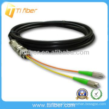 FC waterproof outdoor Fiber optic pigtail(waterproof cable)