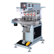 Automatic 4-Color Seal Ink Cup Pad Printer Machine