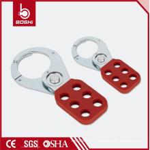 "OEM приемлемо! BOSHI BD-K01 / K02 Lockout Tagout Steel Hasp с ручкой PA с покрытием, 1 ""/ 1,5"" Shackle"