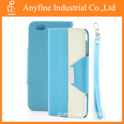 New Sublimation Wallet Leather Phone Case for iPhone6