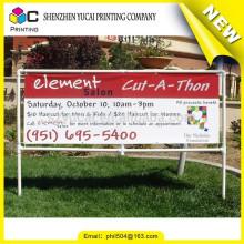 Garantía de la empresa de alta calidad de flexión colgando banner banner stand banner