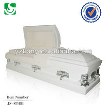 JS-ST481 competitive price steel caskets
