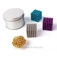 216PCS 5mm différentes couleurs boules magnétiques Neocube