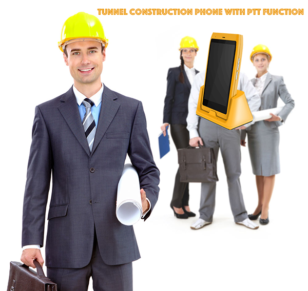 Tunnel construction Phone With PTT