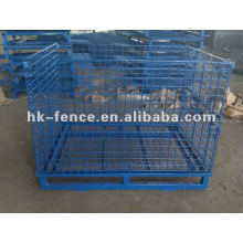 Wire Mesh Container/Supermarket Storage Cage