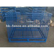 Gaiola de armazenamento de malha de arame / supermercado