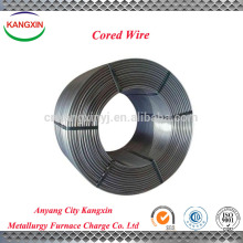 SiCa / calcium silicon cored wire, Solid cored solder wire for steel making supplier