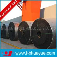 Noyau entier, bande transporteuse ignifuge de PVC / Pvg, bonne sécurité