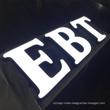 Front Light Channel Letters 3d Acrylic Illuminated Signs  Custom Acrylic Sign  Led Lighting Letters