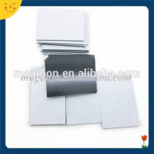 Custom size flexible adhesive rubber magnet