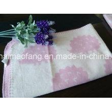 Cobertor de bebê de algodão puro tecido