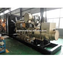 Générateur diesel approuvé CE de 1400 kVA avec un prix compétitif