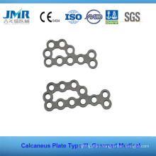 Metal Trauma Bone Orthopedic Implant Type II Calcaneus Plate