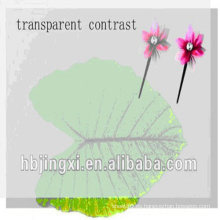 Hoja transparente de goma de silicona muy fina