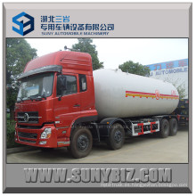 13t Dongfeng Kinland 8X4 Gas LPG camión cisterna