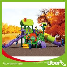 Bunte Outdoor Spielplatz, Vergnügungspark Ausrüstung LE.S.030