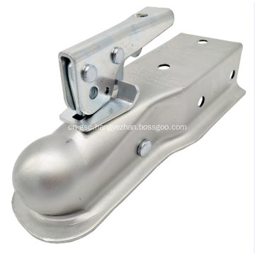 """Channel Tongue Trailer Coupler  2"""" Ball"""