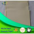Weißes Farbpappe Vorgedrucktes Versatzpapierpapier