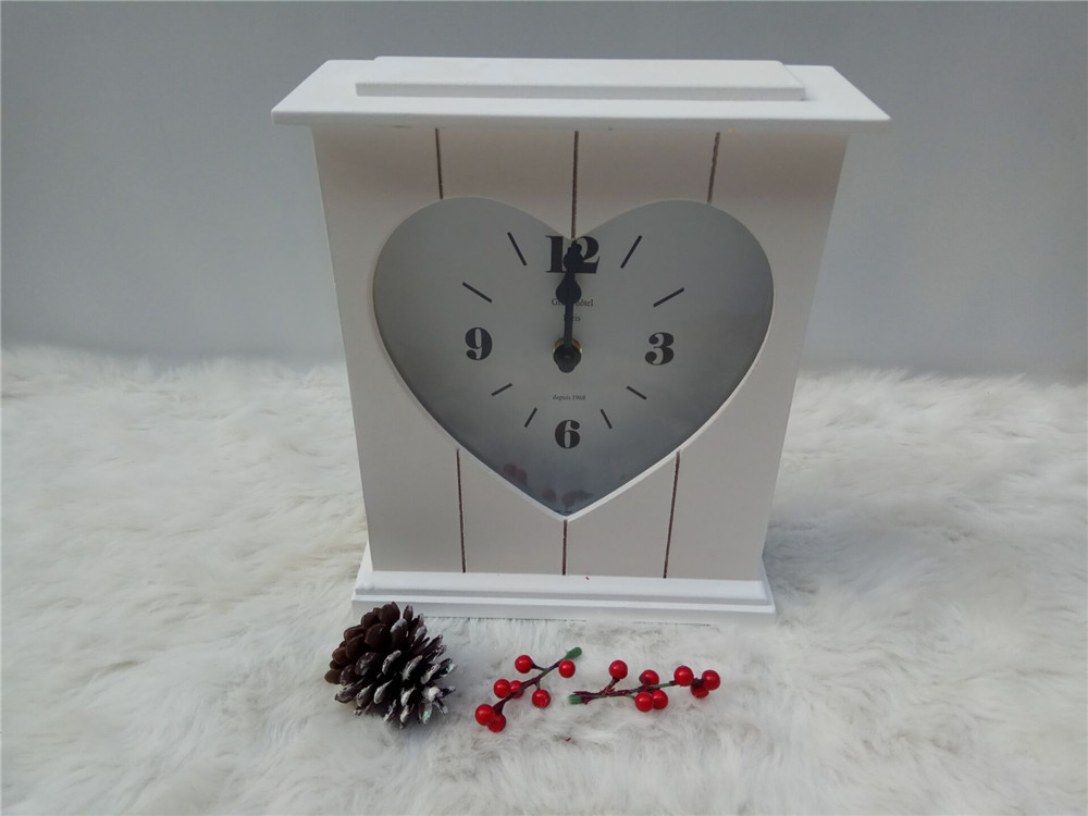 modern home style wooden clock