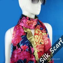 Wholesale Silk Long Scarf for Girl