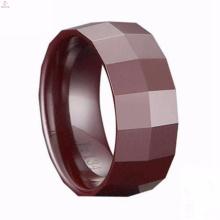 Benutzerdefinierte Beste Marke Großhandel Braun Keramik Ringe Schmuck