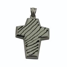 China manufastrador, moda jóias cruz pingente com fringe.floating chrms para homens