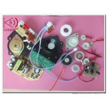 Transductor Piezoeléctrico Nebulizante Ultrasónico de 1.7MHz