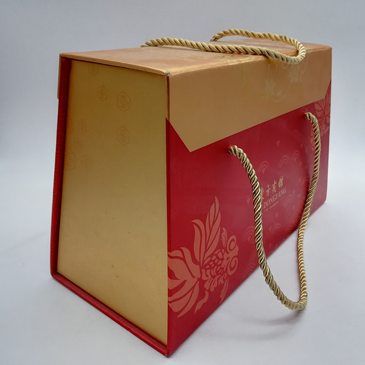Magnetic Box With Ribbon