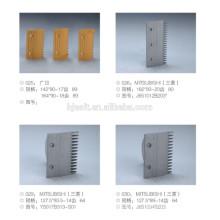 Composants de plaque peigne / escalier mécanique