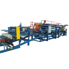 EPS Rockwool Sandwich Panel Roll Forming Machine