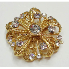 Flower Shapes Mulheres Rhinestone Shoe Clips