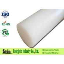 Engineering HDPE Plastic Rod Tube for Food Machine Parts ,