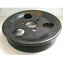 Engine steering pump pulley
