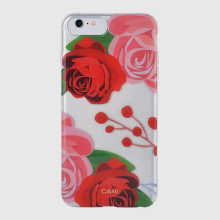 Marble Design Double IMD TPU caso do telefone celular para iPhone 8 Back Cover