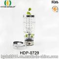 600ml BPA frei Kunststoff Vortex Shake Flasche, tragbare Kunststoff elektrische Protein Shaker (HDP-0729)
