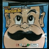 MMO-0253 party funny black artificial self-adhesive Mexican moustaches